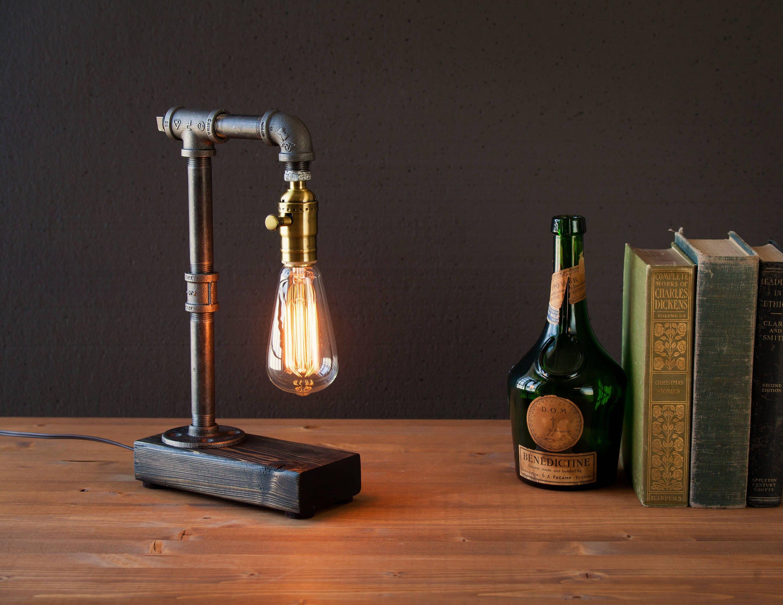 Industrial Lighting Steampunk Lamp Table Lamp Edison