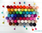 Custom Felt Ball Garland, Nursery Decor, Pom Pom Garland, Playroom Decor, Bunting, Banner, Baby Shower Decor, Party Decor, Birthday Garland