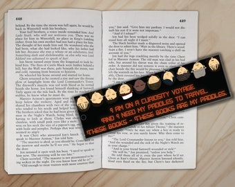 Curiosity Voyager Bookmark - Flat Bookmark