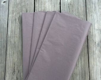 48 Sheets Dark Gray Tissue Paper/ Slate Gray Tissue Paper