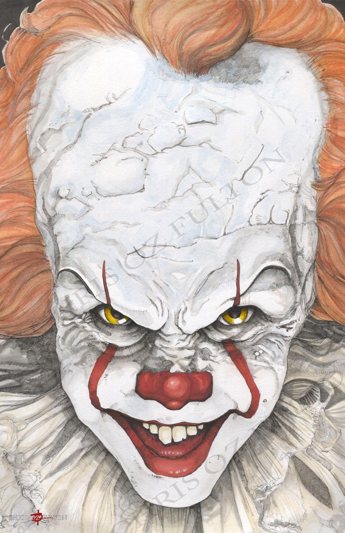 IT Movie Pennywise The Clown Bill