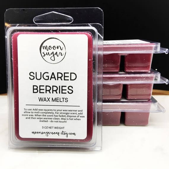 sugared berries wax melts extra strong long lasting candle. Black Bedroom Furniture Sets. Home Design Ideas