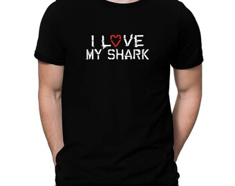 I Love My Shark T-Shirt