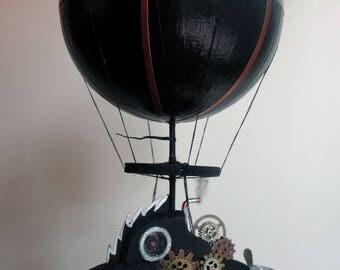 Steampunk Nemo Airship Ornament