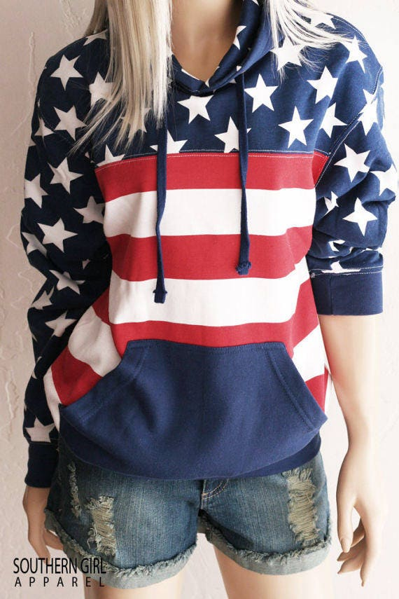 American Flag Shirt Men
