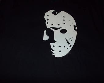 Jason Voorhees-Friday the 13th Shirt! Sz S-XL! Made to Order! NEW!! Bigger sizes available by request!!