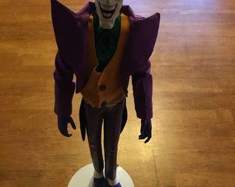 "Vintage 15"" Joker Action Figure"