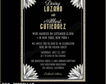 DAISY custom printed Wedding Invitations