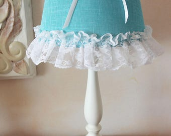 Romantic - Cherub and laces - atmosphere shabby chic Lampshade