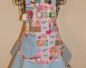 Child's Small Shopkins Apron