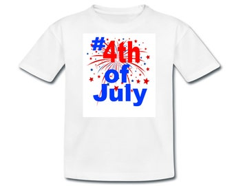 Iron-On Transfer (#4th of July)