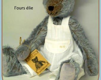 the bear collection Elijah blue mohair by a world ' bear