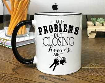 Realtor Mug - Realtor Gift - Real Estate Agent Coffee Mug - Closing Day Gift - Dishwasher Safe - Microwave Safe - Thank you Gift for realtor