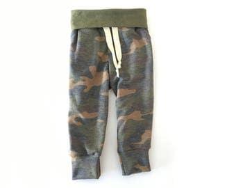 Joggers/Baby leggings/Sweatpants/Camo pants/Baby Joggers/Baby boy clothes/Toddler leggings/Baby boy leggings/Hipster baby clothes/Baby girl