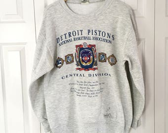 Vintage Detroit Pistons Sweatshirt