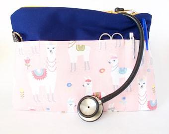ALPACA Stethoscope Bag. Medical Gift. Nurse Gift. Medical Student Gift. Nursing Student. Vet Tech. Vet Gift.Nurse Grad.MD Grad.Vet Tech Gift