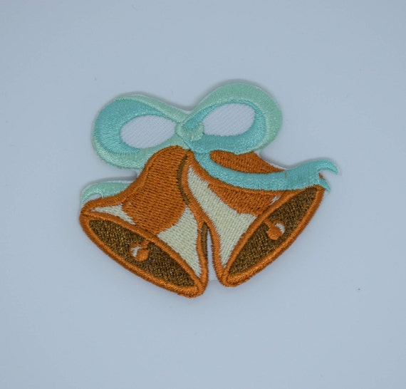 Christmas Bells Iron on Patch