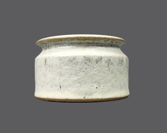Finn Lynggaard Ceramic Vase Danish Pottery Denmark Mid Century MCM MOD Modern Art Designer Decor Stoneware