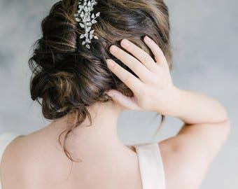 Bridal Hair Comb, Wedding Hair Comb, Rhinestone Hair Comb, Crystal Headpiece, Bridal Headpiece, Wedding Headpiece -Style 316-Brenna