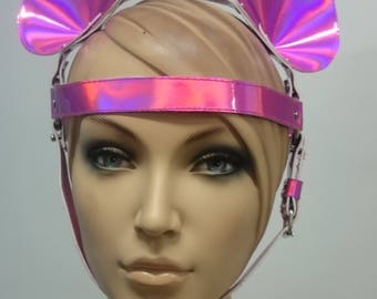 Rainbow head harness - Bunny - mouse - cat