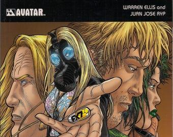 Image Comics,NO HERO, How Much Do You Want to Be A Super Human, Warren Ellis,Juan Jose Ryp,Alternative Super Hero Graphic Novel Collection
