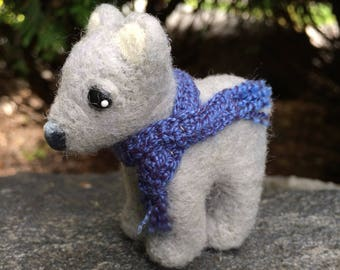 Cozy Felted Bear