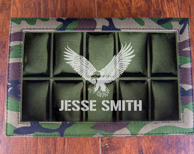 Ammo Box, Ammo Can for Watches, Watch Box, Military Surplus, Ammo Organizer, Hunting Box, Ammunition Box, 50 Cal Box, Gift for Dad Christmas
