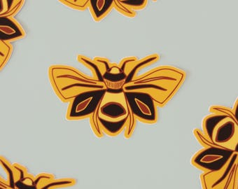 Bumble Bee Vinyl Sticker