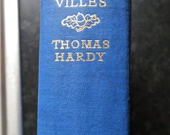 TESS of the D'URBERVILLES by Thomas Hardy Library Edition Published by Macmillan & Co, London 1952