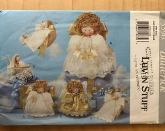 Butterick 3596 - Luv 'N Stuff Tree Top Angel and Angel Ornaments