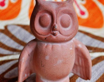 Owl - Terracotta Clay