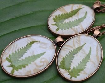 Fern Frond pendants
