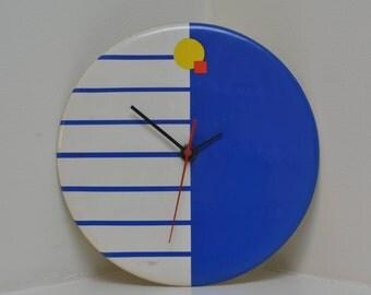 Bauhaus Clock - Vintage Mid Century Modern