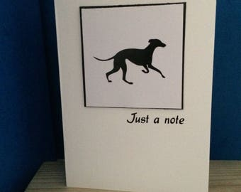 Pet Silhouette Cards for Any Occasion - can be Personalised - Postage Included