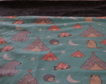 Camping Critters Pillowcase