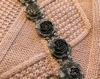 Vintage Hobe Sterling Silver Bracelet  **Free Shipping**