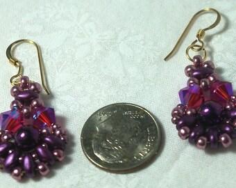 Purple Passions Earrings