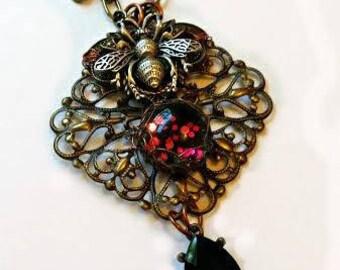 Bee Portal Necklace