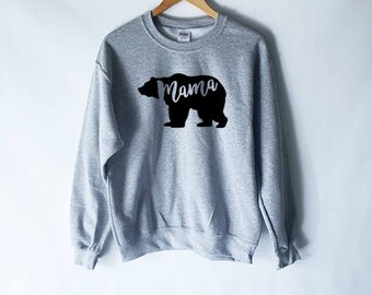Mama bear sweatshirt etsy mama bear sweatshirt mama bear shirt mother to be future mom pregnancy publicscrutiny Image collections