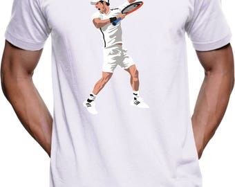 Andy Murray Dab for Wimbledon t-shirt for men, women & kids.