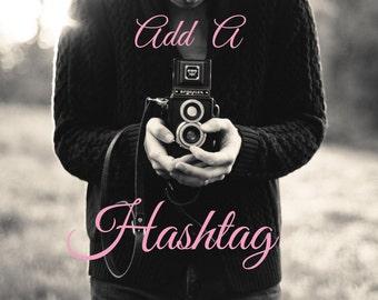 Add A Hashtag
