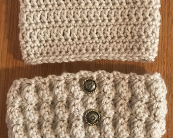 Adult Set of Boot Cuffs