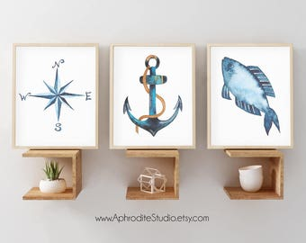Nautical home decor Etsy