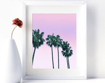 Tropical Print Palm Tree Print Palm Tree Art Tropical Wall Art Palm Tree Photo Beach Wall Art Palm Beach Art Printable Palm Tree