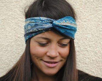 Yoga headband, Christmas headband, Tribal headband, Knot headband, Twist headband, Ethnic turban, Tribal turban, Hippie headband, Turban