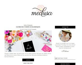Lifestyle Fashion Wordpress Theme, Wordpress Ecommerce Theme Responsive Blog Theme Design - Medusa ( Free Installation )