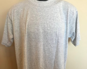 80s Jerzees Plain Gray Shirt Vintage Tee Russell Athletic Do You Work At Being An ASS Does It Come Naturally Retro Crewneck Soft Thin Funny