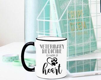 Veterinarian Mug, Veterinarian Gift, Veterinary Medicine, Veterinarian, Vet Gift, Vet Tech Gift, Gift for Veterinarian, Veterinary School