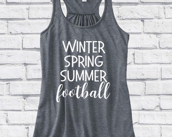 Football Shirt!  Women's Tank Top, Football Season - Winter, Spring, Summer, Football - Girls Football