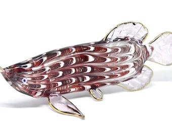 Arowana fish etsy for Arowana tank decoration